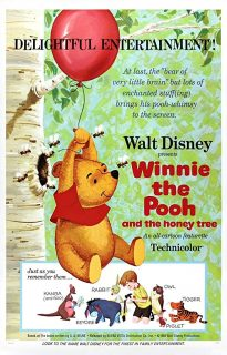 affiche poster winnie ourson arbre miel honey pooh tree disney