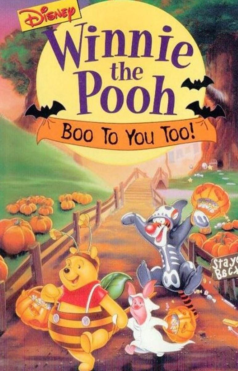affiche winnie ourson bouh pooh boo disney