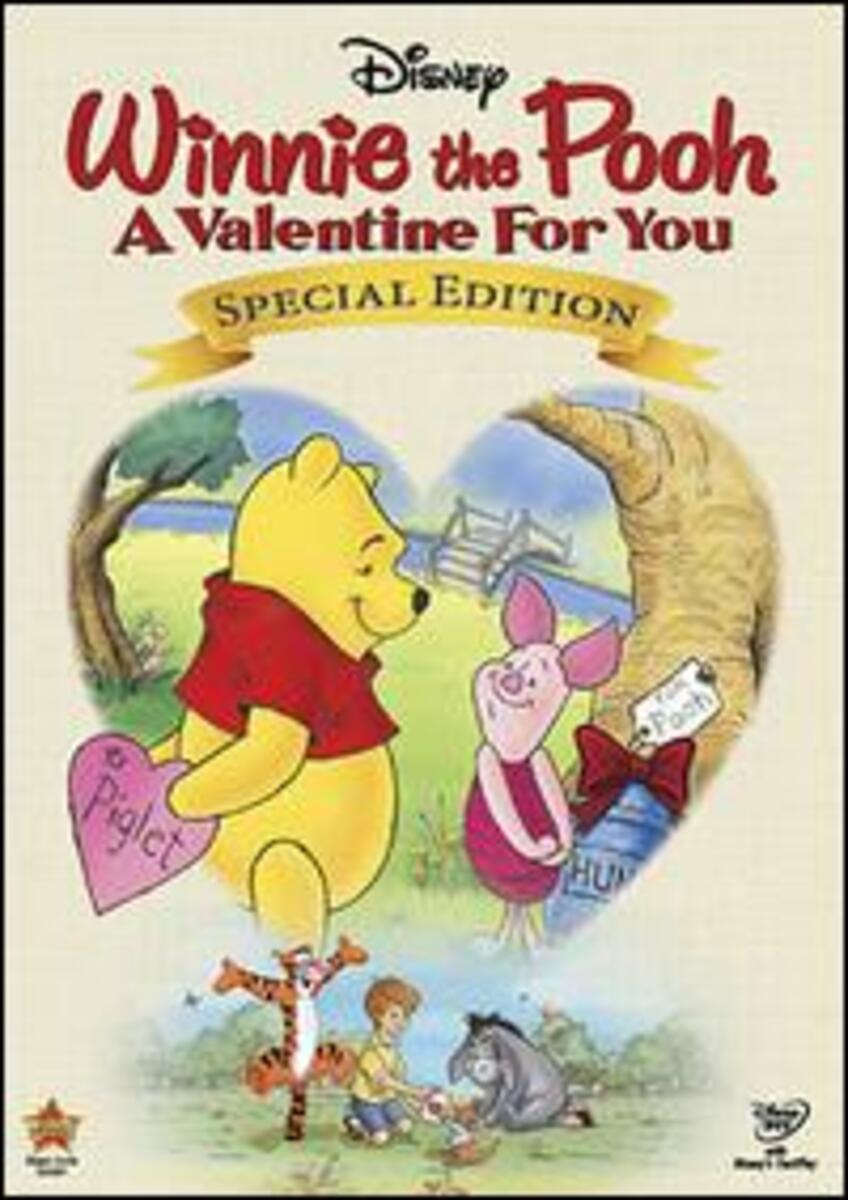 affiche poster winnie ourson offre coeur pooh valentine disney