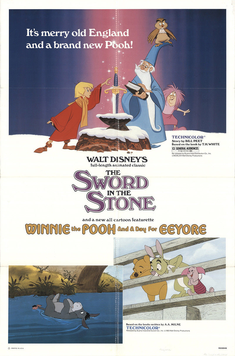 affiche poster winnie ourson sacre- journee bourriquet day eeyore disney