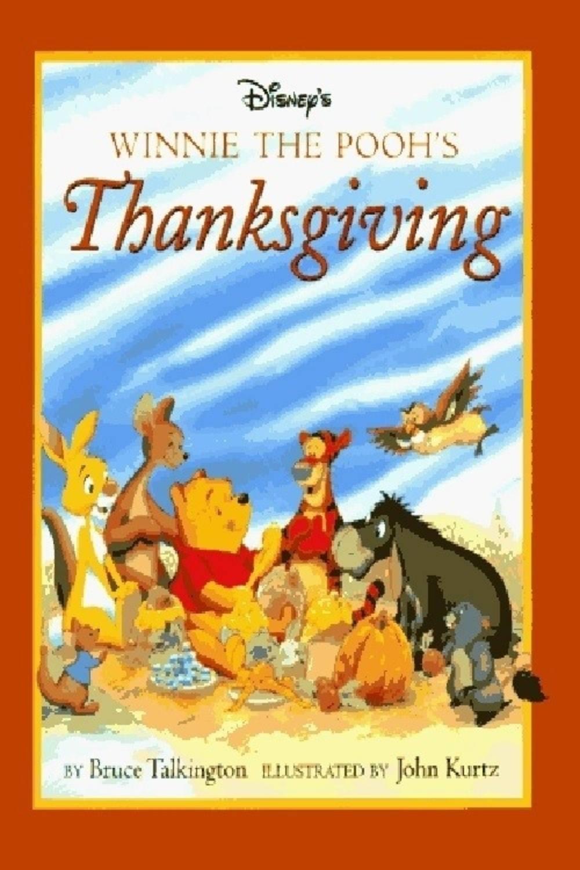affiche poster winnie ourson thanksgiving pooh disney