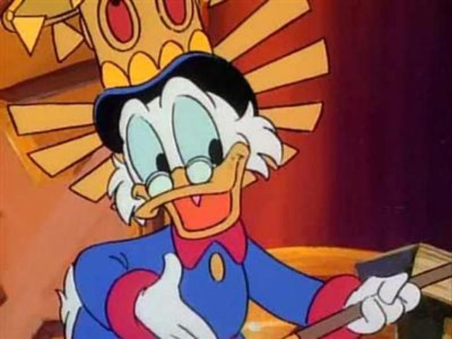 image bande picsou temps argent ducktales time money disney
