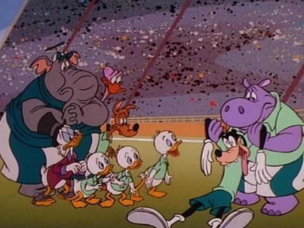image footmania dingo football soccer goofy disney