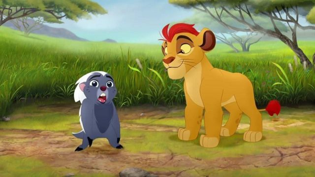 image garde guard roi king lion return roar disney