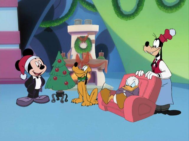 image mickey magie noel magical christmas disney