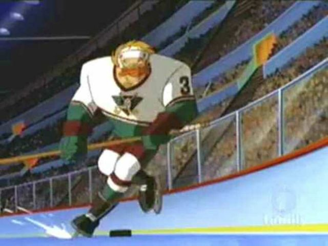 image mighty ducks movie first face off disney