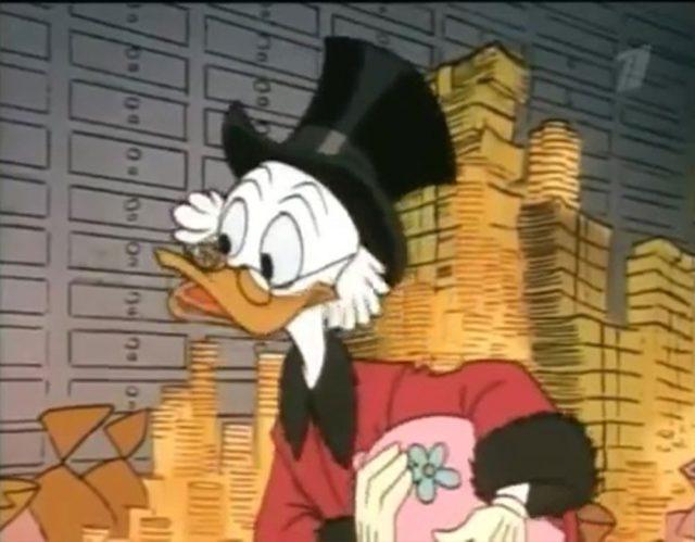 image picsou banquier reussir finance scrooge money disney