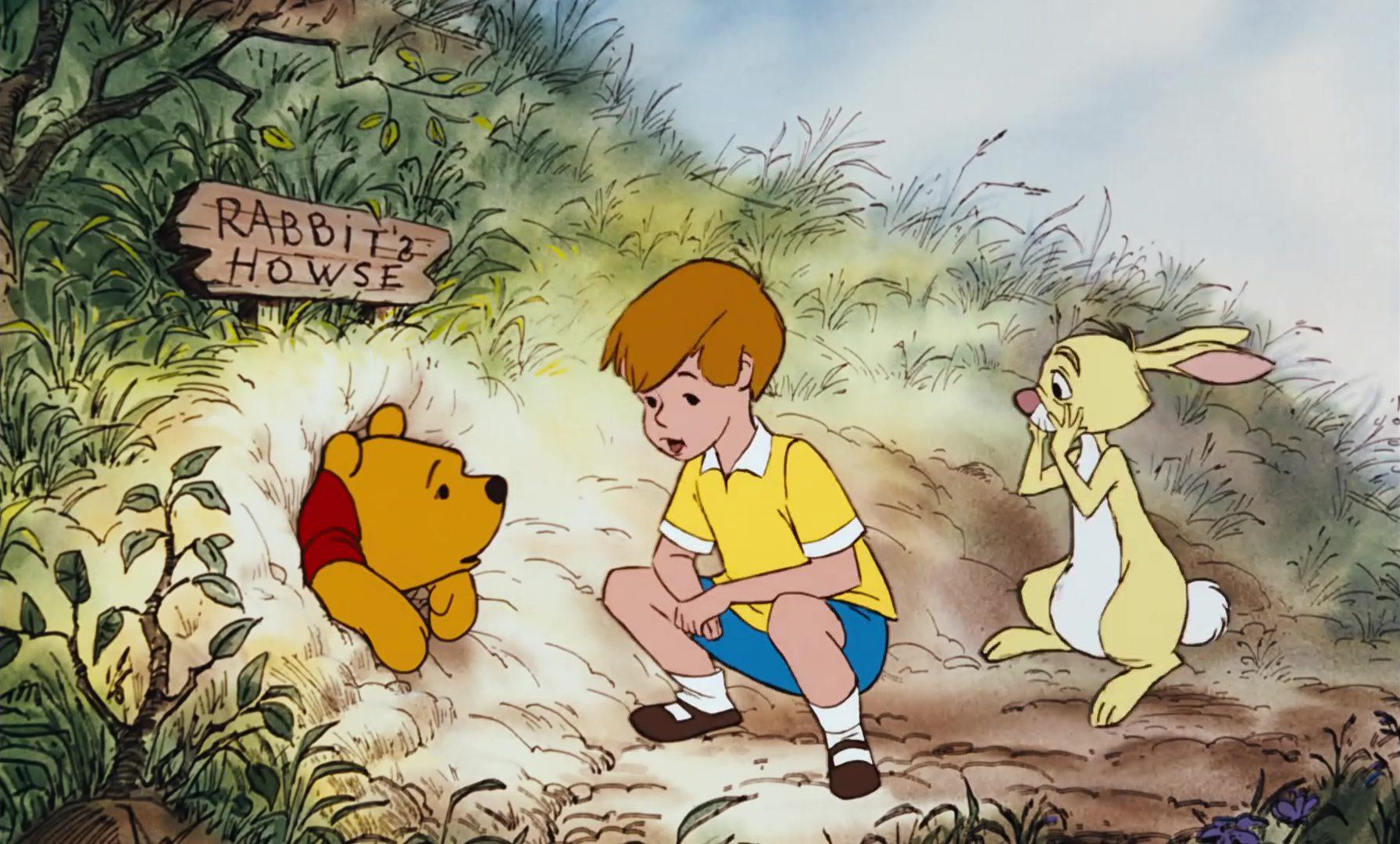 image winnie ourson arbre miel honey pooh tree disney