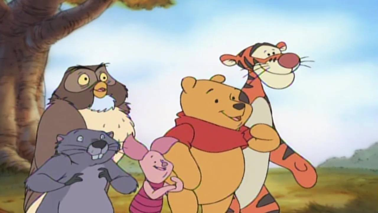 image winnie ourson thanksgiving pooh disney