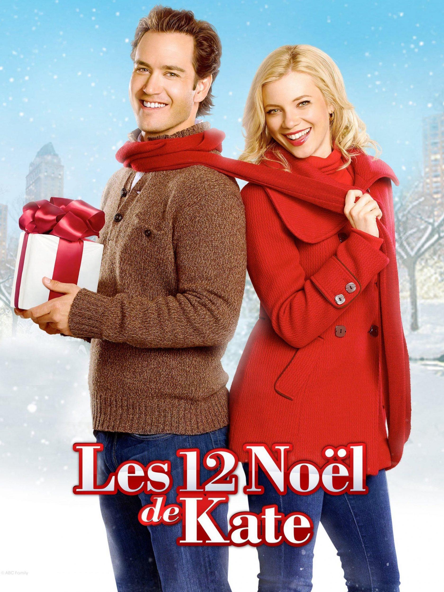 affiche poster 12 noel dates kate christmas disney