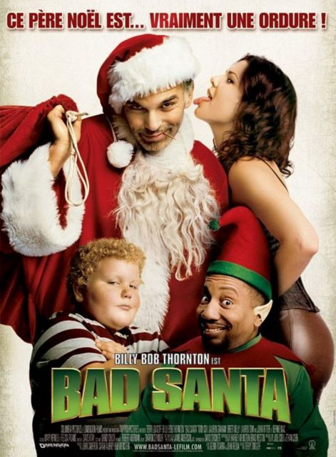 affiche poster bad santa disney dimension