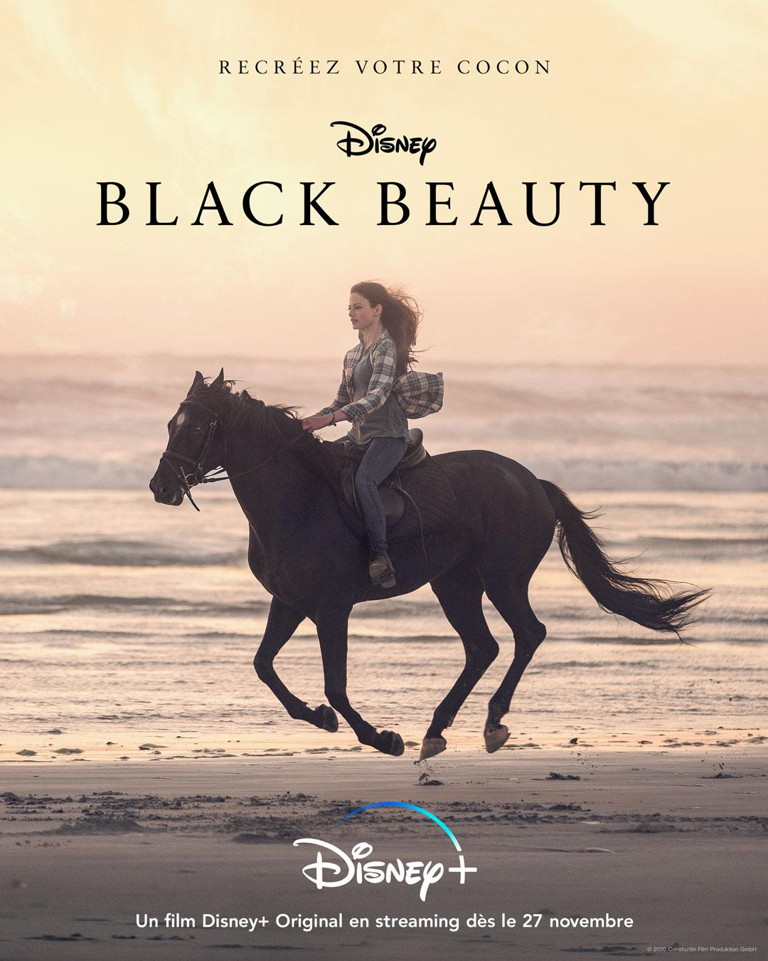 affiche poster black beauty disney
