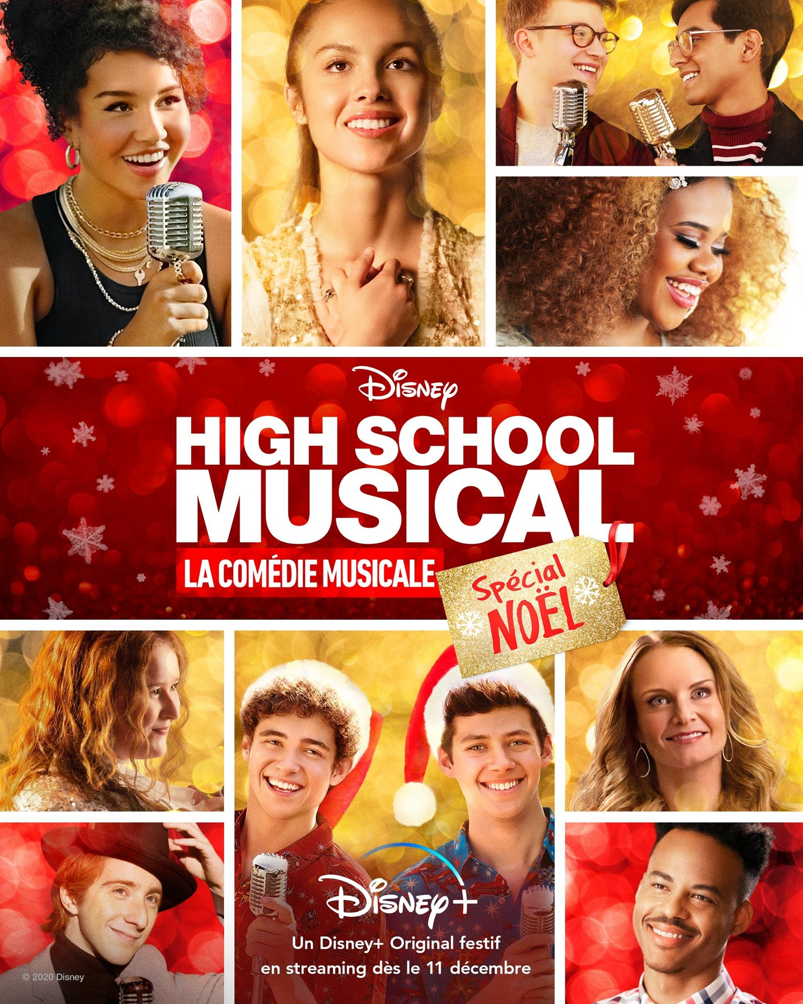 affiche poster high school musical serie special holiday disney