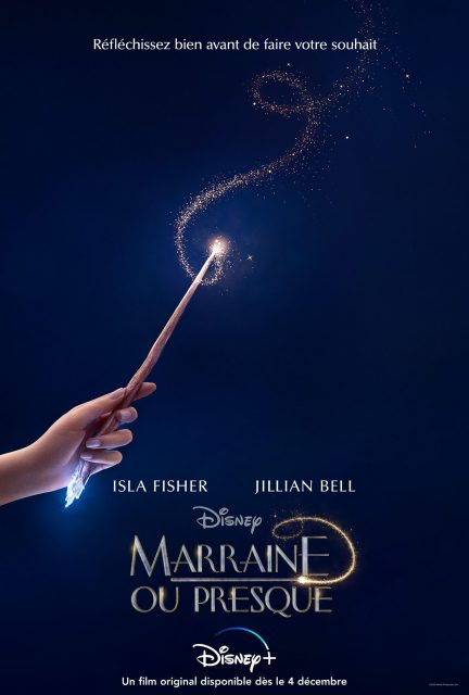 affiche poster marraine presque godmothered disney