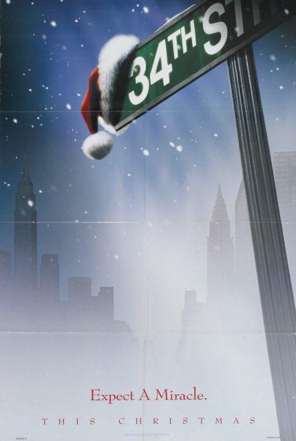 affiche poster miracle 34e rue street disney fox