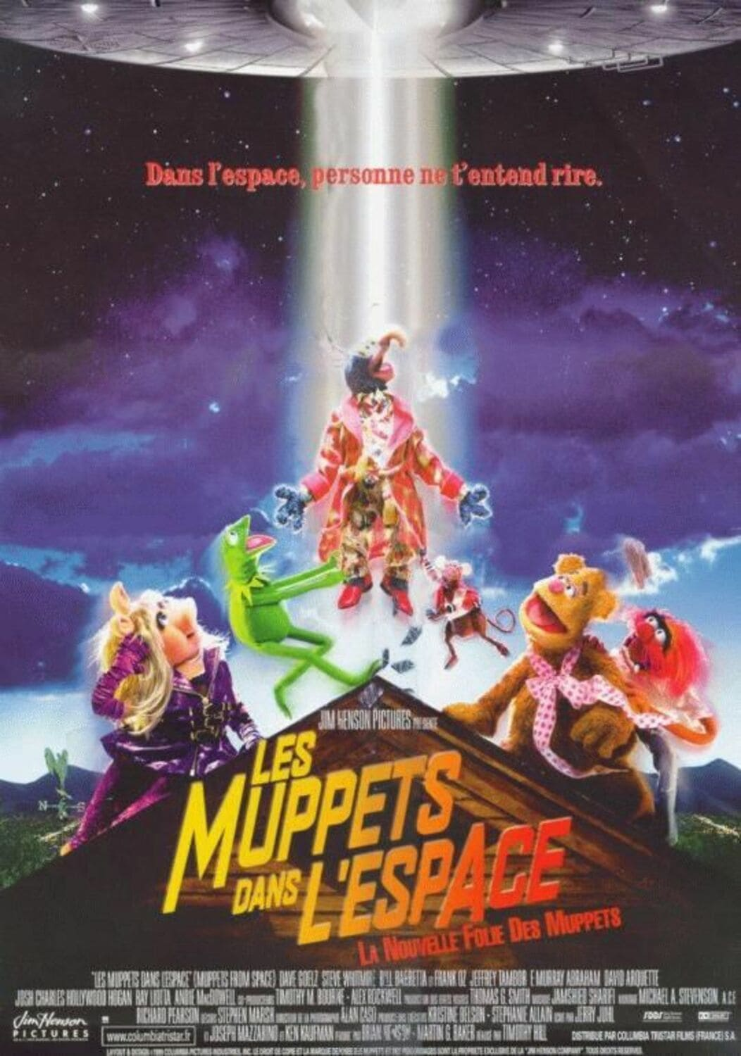 affiche poster muppets espace space disney