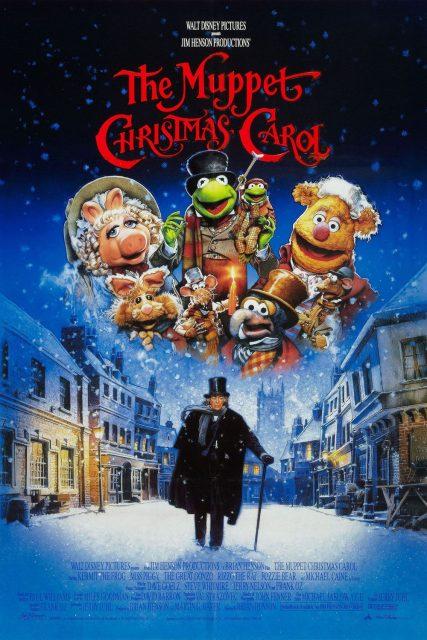affiche poster noel muppets christmas carol disney