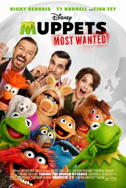 affiche poster muppets operation most wanted disney
