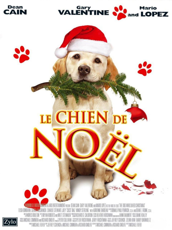 affiche poster sauveur chien noel dog saved christmas disney
