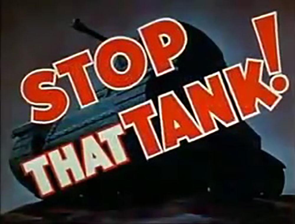 affiche poster stop tank boys anti rifle disney