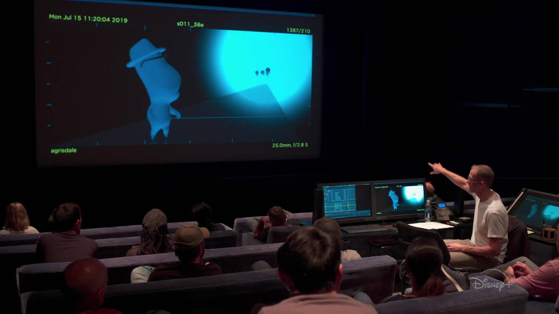 image coulisses inside pixar disney