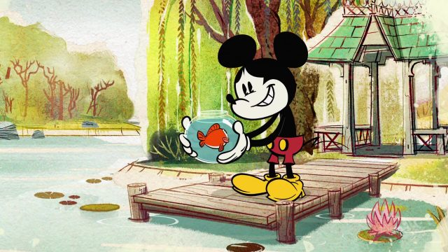image monde merveilleux mickey mouse wonderful world disney