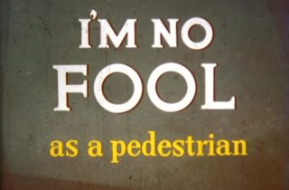 affiche poster no fool pedestrian disney