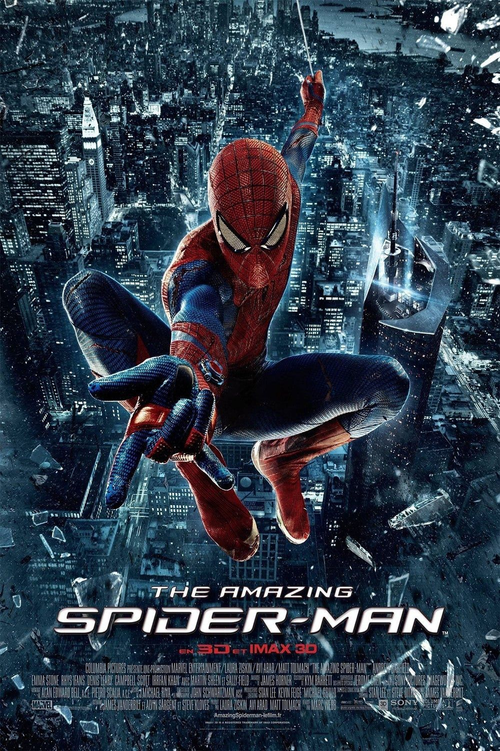 affiche poster amazing spider-man disney marvel