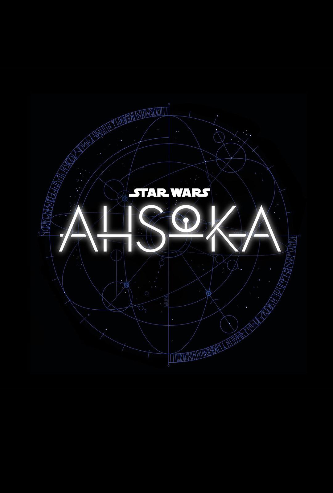 affiche poster ashoka star wars disney