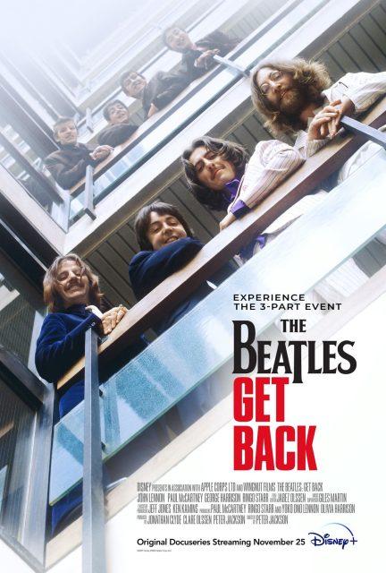 affiche poster beatles get back