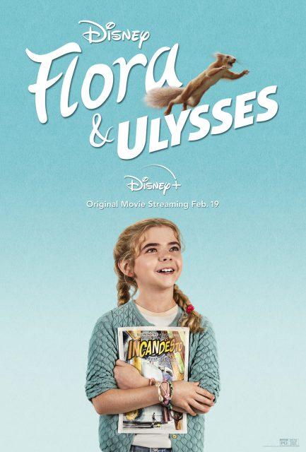 affiche poster flora ulysses disney