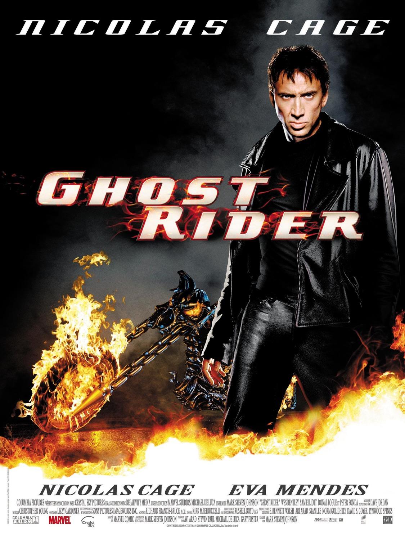 affiche poster ghost rider disney marvel