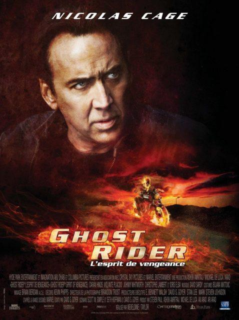 affiche poster ghost rider 2 esprit vengeance spirit disney marvel
