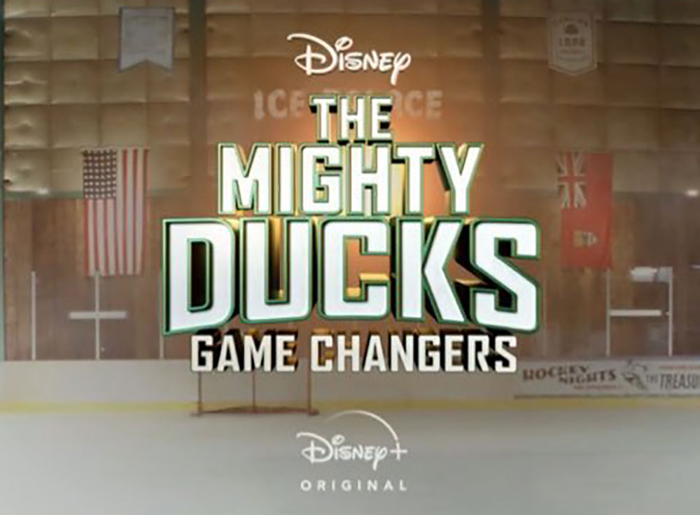 affiche poster mighty ducks game changer disney