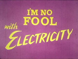 affiche poster no fool electricity disney