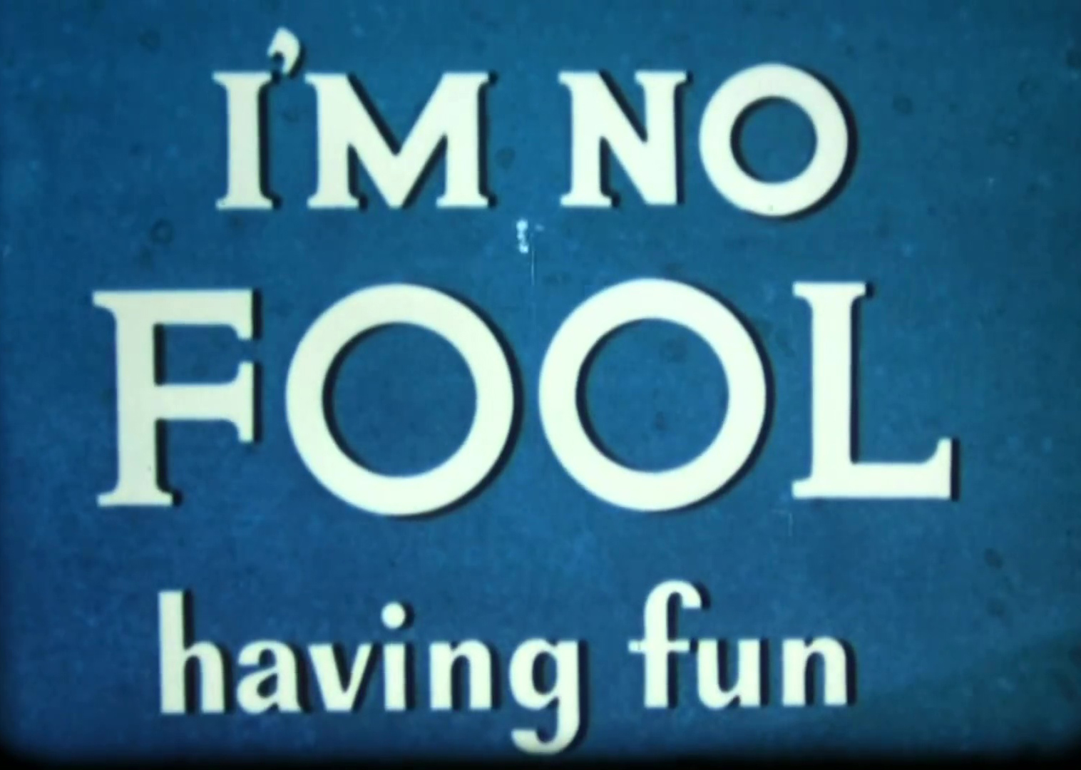 affiche poster no fool having fun disney