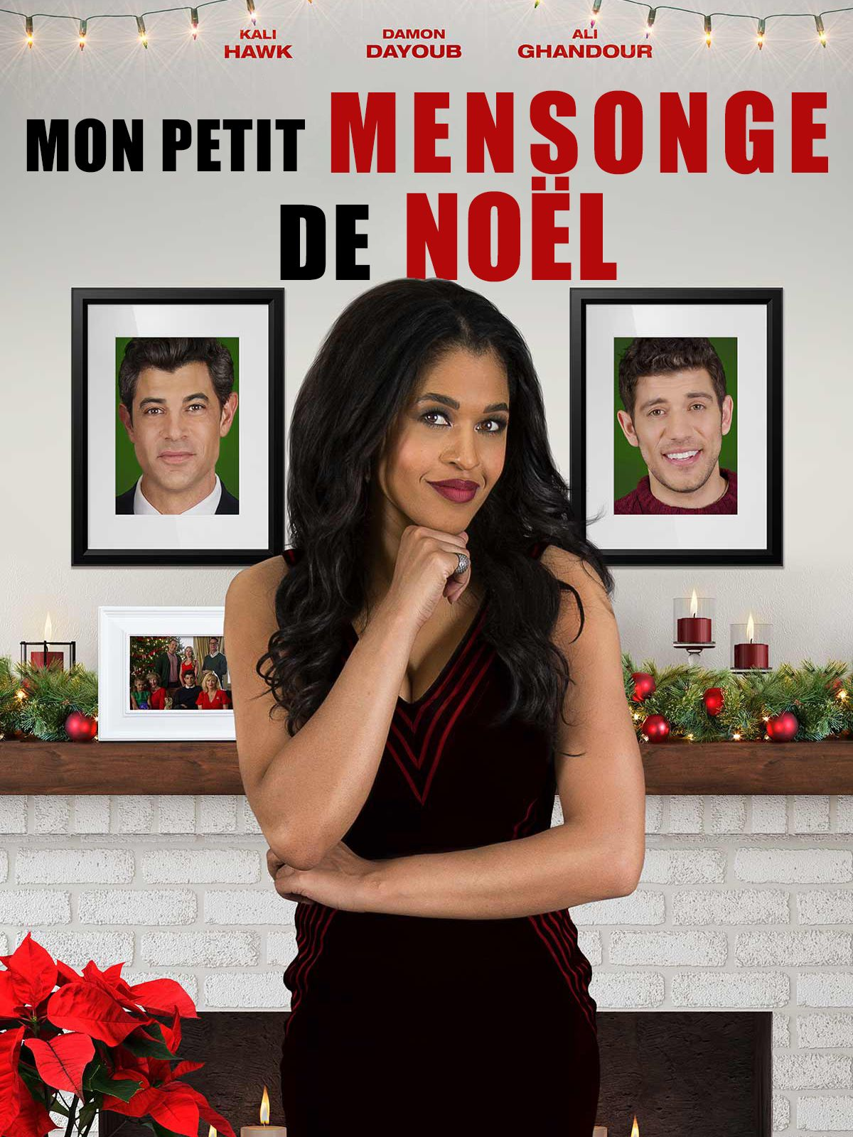 affiche poster petit mensonge noel truth about christmas disney freeform