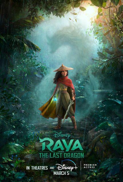 affiche poster raya dernier dragon last disney