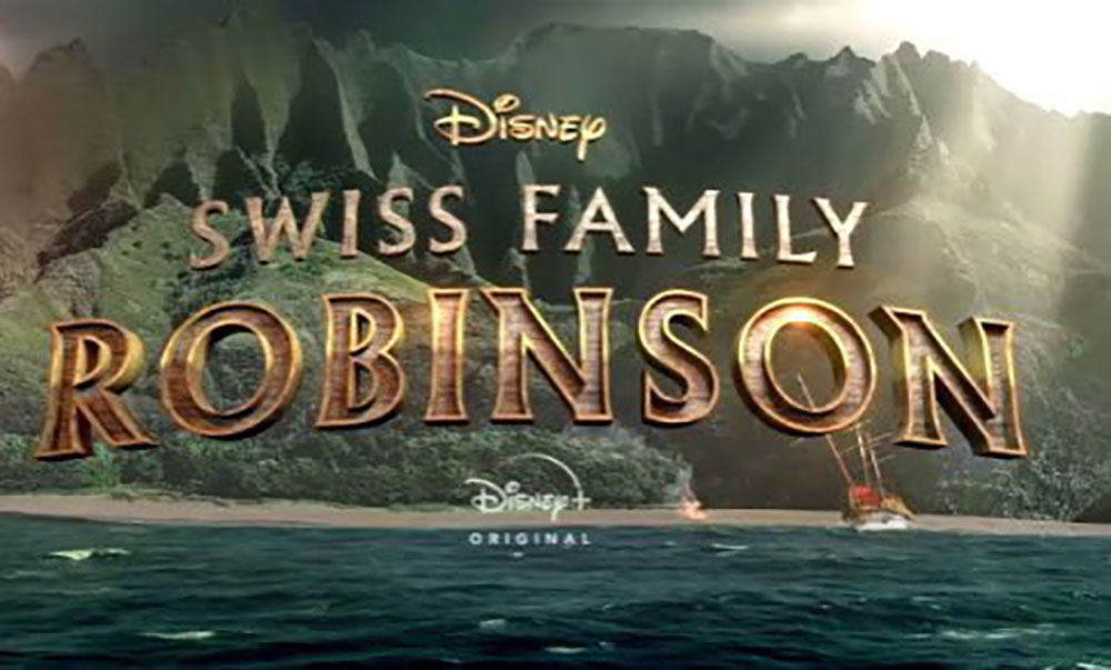 affiche psoter robinsons mer sud serie swiss family disney
