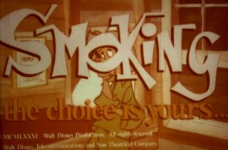 affiche poster smoking choice yours disney