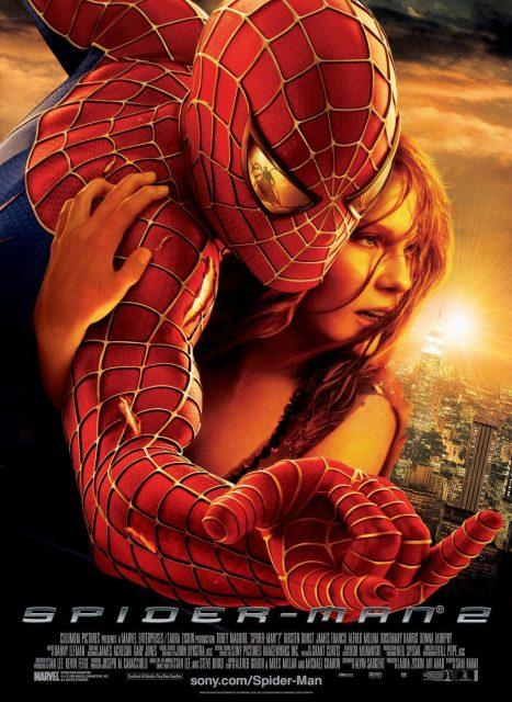 affiche poster spider-man 2 disney marvel