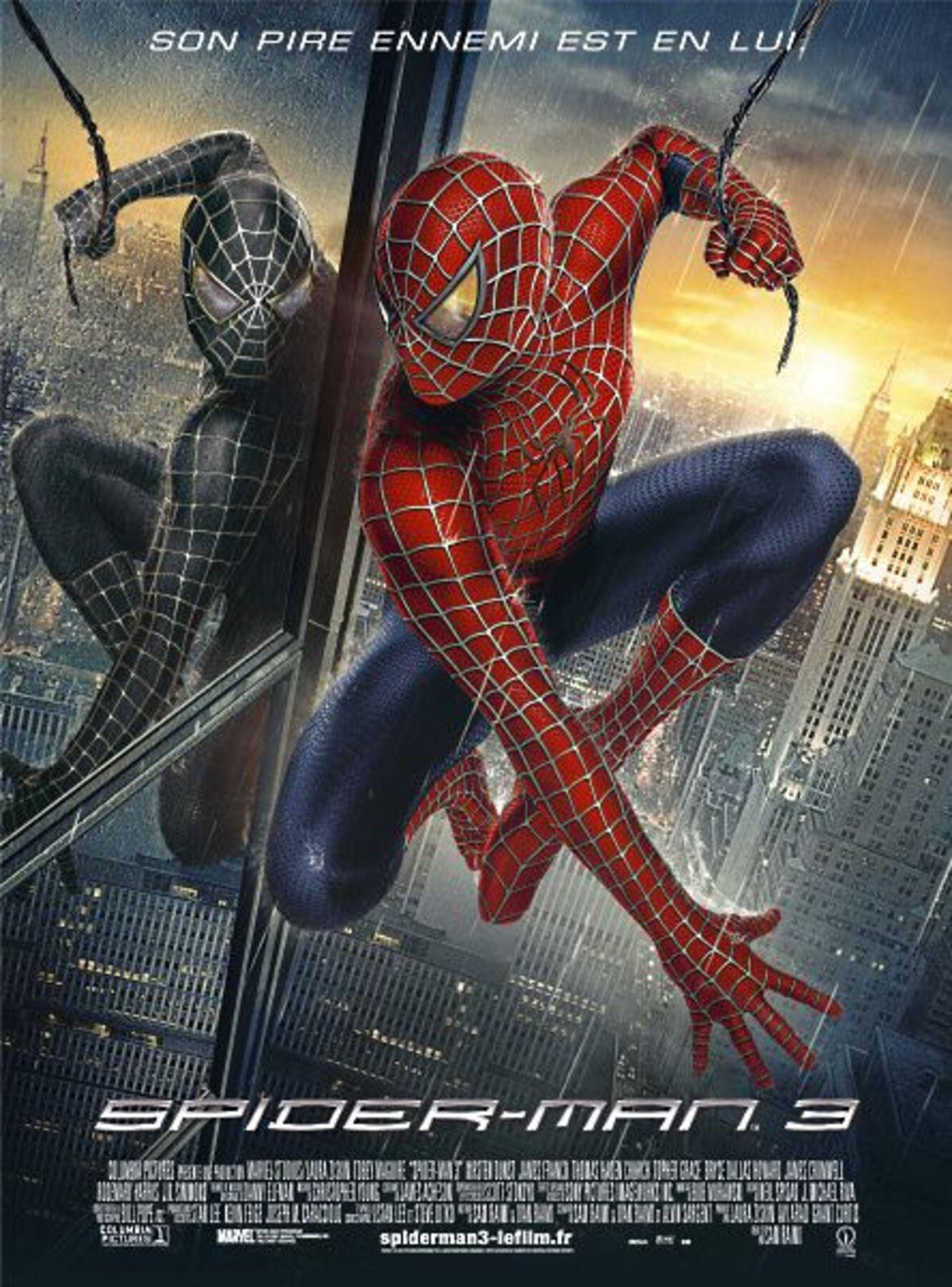 affiche poster spider-man 3 disney marvel