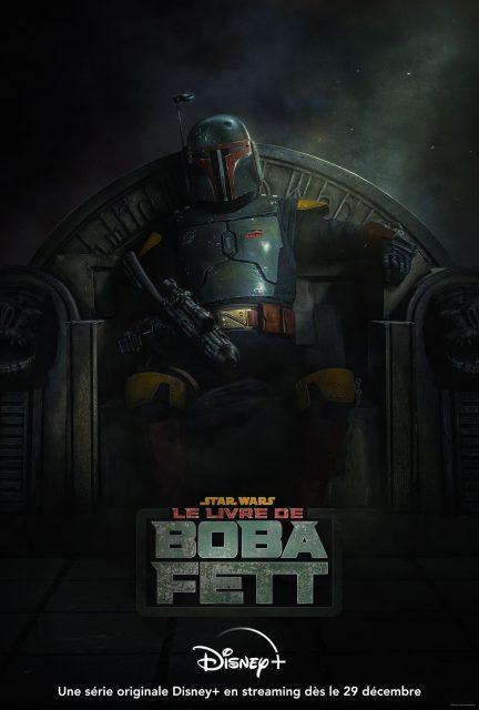 affiche poster livre book boba fett star wars