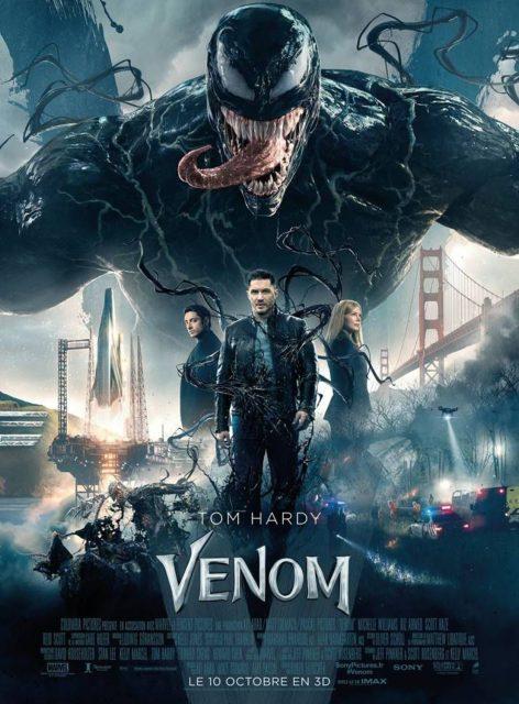 affiche poster venom disney marvel