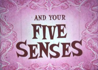 affiche poster you five senses disney