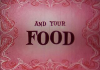 affiche poster you food disney
