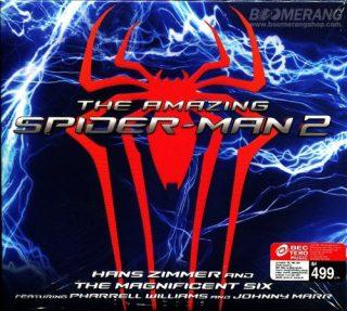 bande originale soundtrack ost score amazing spider man 2 destin héros disney marvel