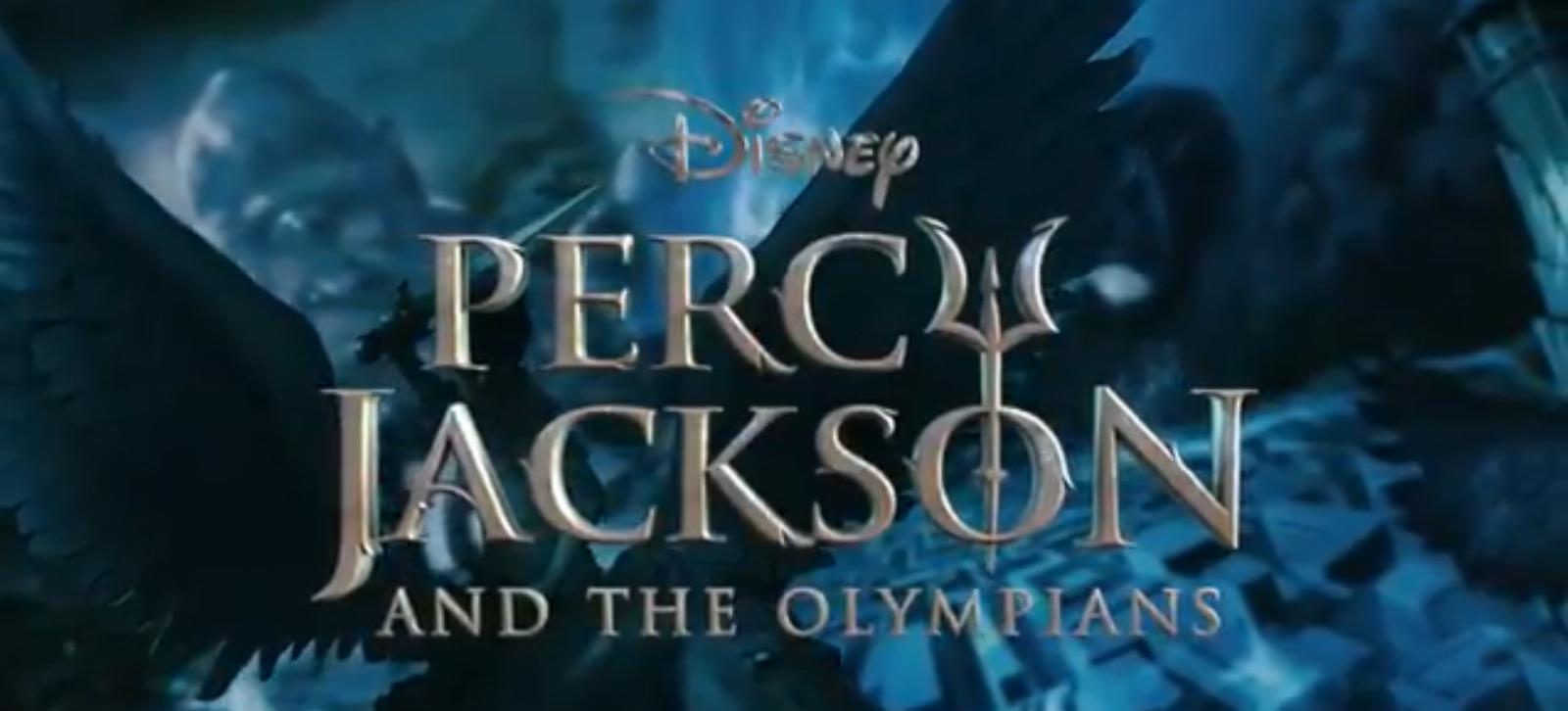 logo percy jackson olympians disney