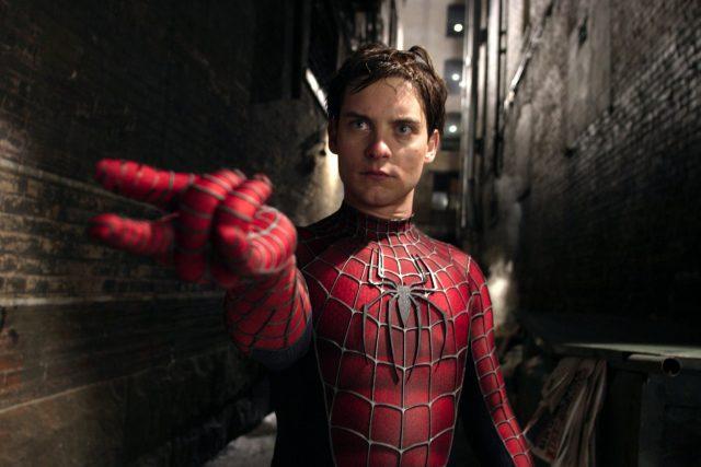 peter parker maguire spiderman marvel
