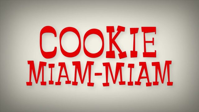 affiche poster cookie num miam pixar popcorn disney